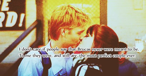 brucas, chad michael murray, couple, i agree, lucas scott, meant to be, one tree hill, perfect, sophia bush