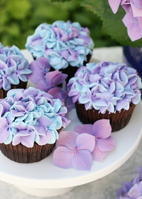 brunafuchs, cakes, cupcake, floers