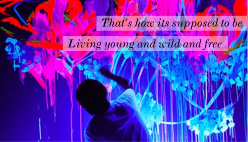 bruno mars, free, glow, living, lyrics, pic, snoop dogg, song, supposed to be, text, wild, wiz khalifa, young, young wild & free