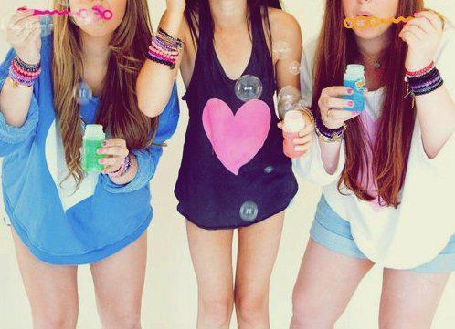 bubbles, cool, girls , heart, noah cyrus
