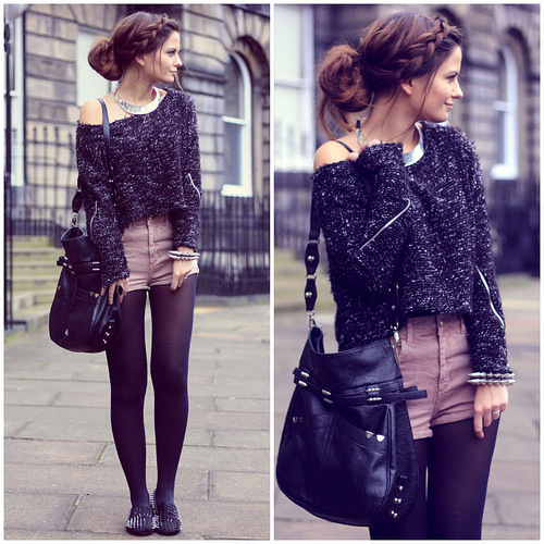 cable knit, fall, fall fashion, fashion, flats