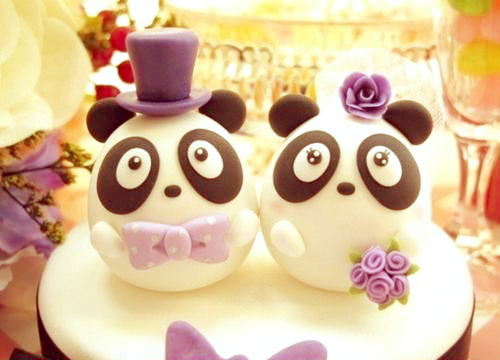 cake, cute, delicious, food, lilac, marriage cake, nice, panda, perfect, wish, xoxo