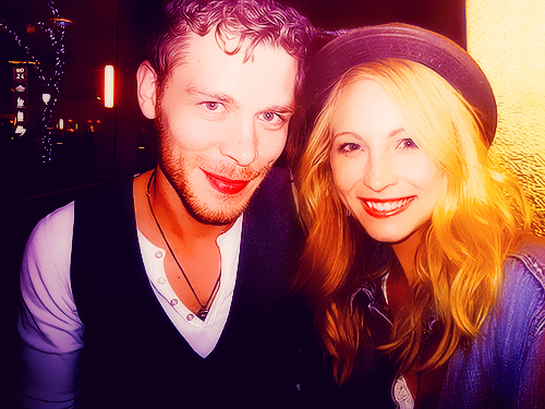 candice accola, caroline, joseph morgan, klaroline, klaus, the vampire diaries, tvd
