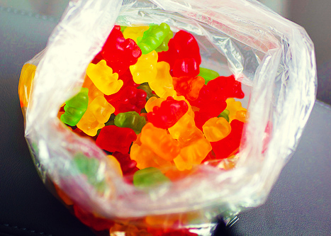 candy mickey, colors, delicious, gummy, gummy bears