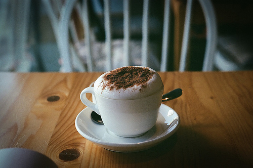 cappucino, cup, photography, yummy