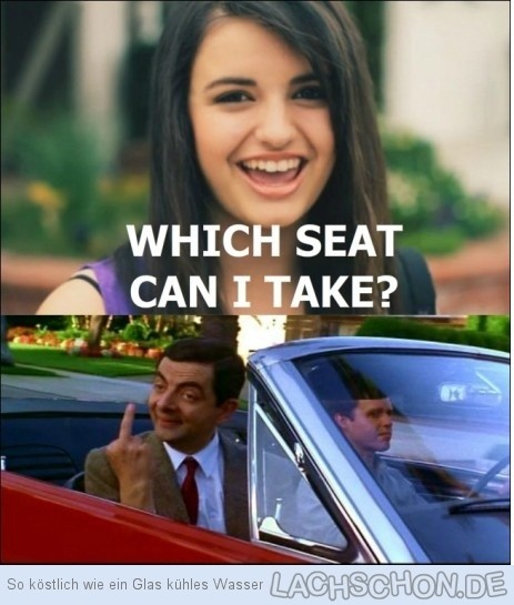 car, funny, rebecca black