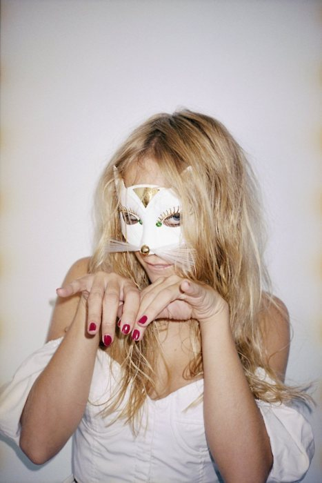 cat, costume, girl, mask, meow