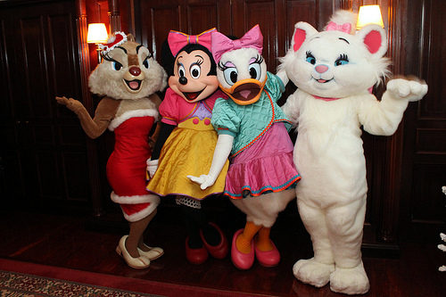 chipmunks, daisy duck, disney, marie, minnie mouse