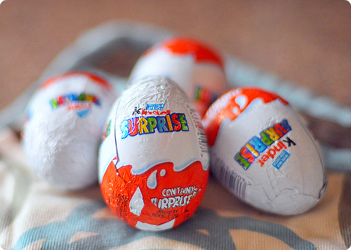chocolate, egg, kinder, yummy