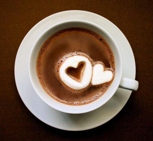 chocolately, coffee, cute, epic, good, heart, love