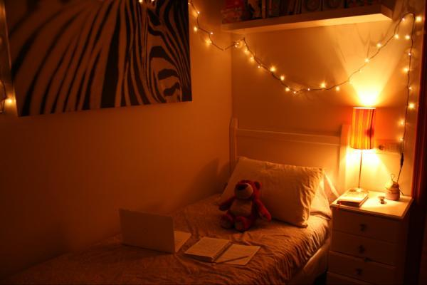christmas, comfortable, cute, dream, habitacion, lights, luces, navidad, relax, room, sweet