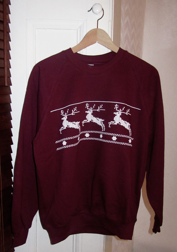 christmas, deer, fashion, jumper, reindeer