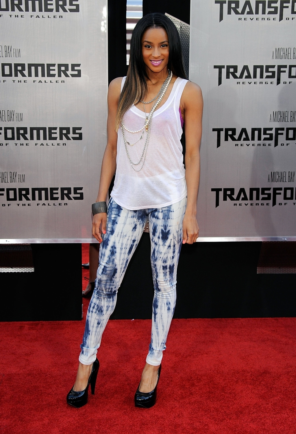 ciara , clothing, cloting, h&amp;m, jeans