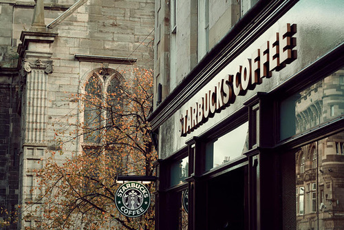 city, coffee, drink, food, starbucks