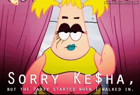 clothes, funny, ke$ha, make up, party