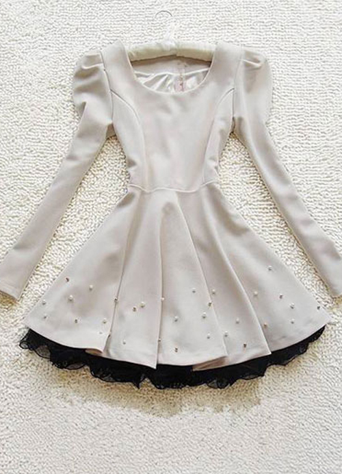 clothing, cute, dresses, fashion, pretty, winter