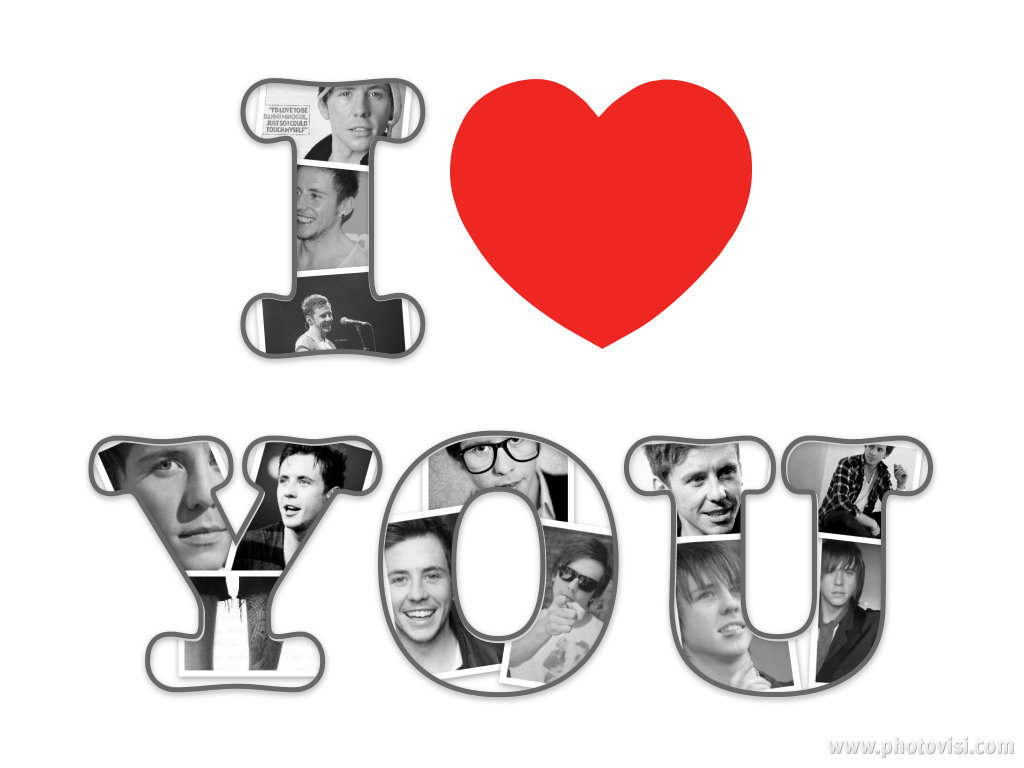 collage, love, mcfly