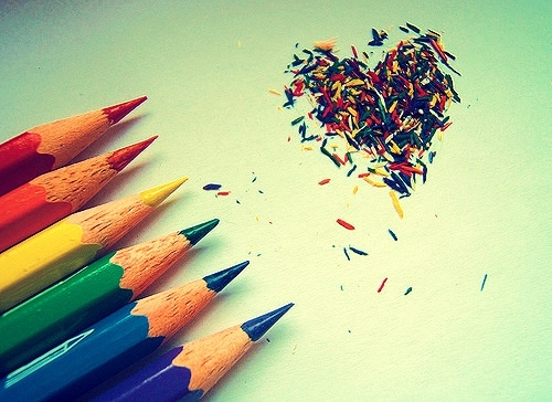 color, colours, life, paints, pencils
