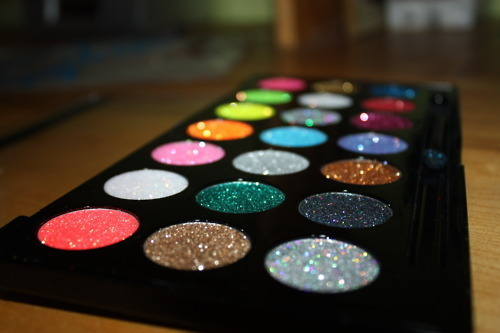 colorful, eyeshadow, girly, glitter, makeup