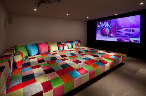 colors, love, room, sofa, wow