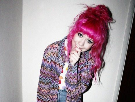 coloured hair, dyed hair, fashion, girl, kayla hadlington