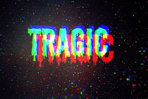 colourful, text, tragic, word, words