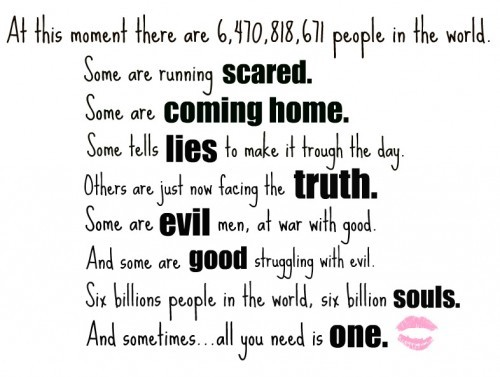 coming home, evil, good, lie, love, one, one tree hill, oth, peyton sawyer, quote, scared, souls, truth