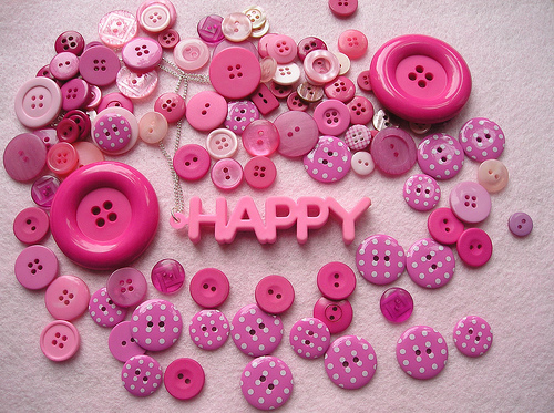 cool, happy, pink