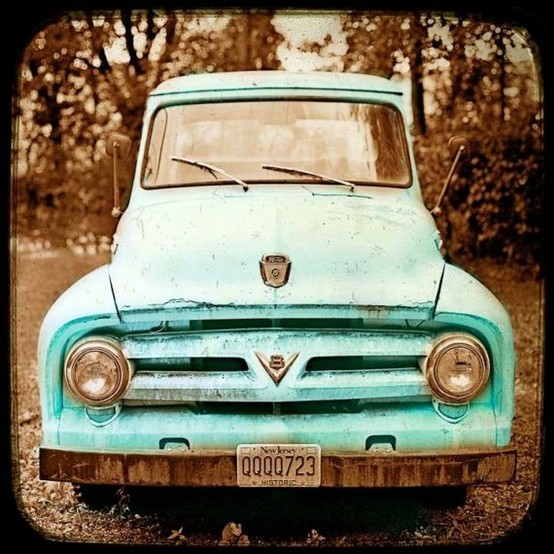 country, truck, vehicles, vintage