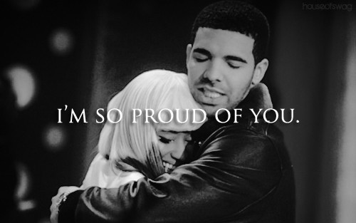 couple, cute together, drake, nicki and drake, nicki minaj, proud