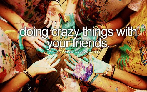 crazy, cute, friends, fun, girl