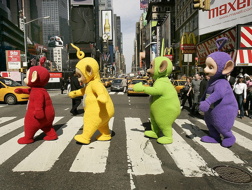 creepy, dipsy, funny, lala, silly