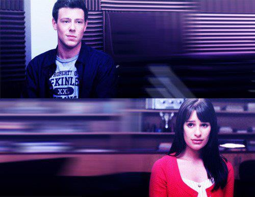 cute, finche, finn, glee, love, rachel