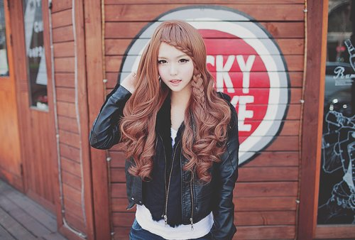 cute, hair, kfaishion, korean girl, mode