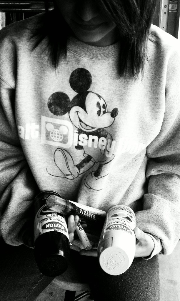 disney, girl, mickey mouse