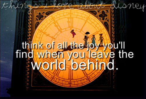 disney, peter pan, quotes, world