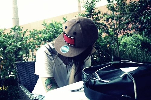 domo, fashion beautiful, hat, pretty