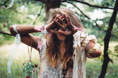 dream catcher, eyes, girl, hippie, wierd