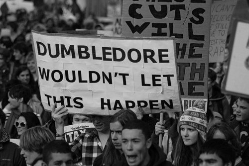 dream, dumbledore, europe, harry potter, life, people, riot, reality