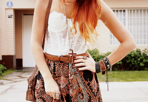 dress, fashion, girl, hair, moda