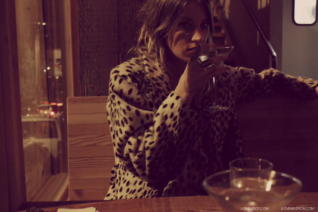 drinks, fashion, fur, girl, indie