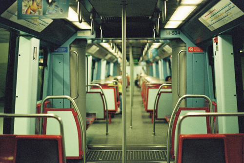 empty, seats, train, vintage