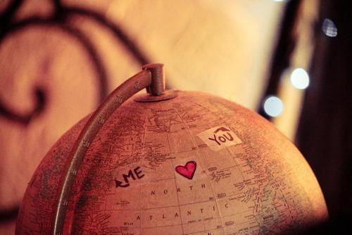 escape, far away, globe, love, you