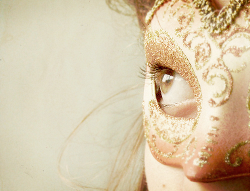 eye, girl, mask