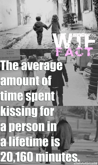 fact, kiss, kissing, love, what the fuck fact