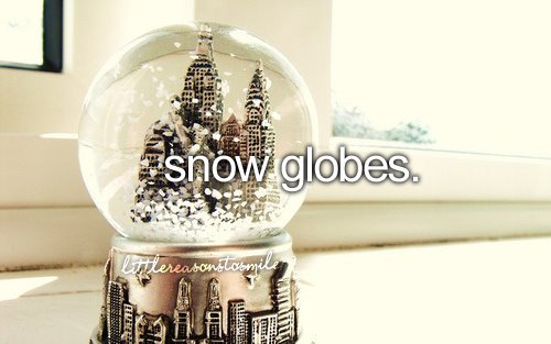 fashion, girly, pink, pink blvd, snow, snow globes, sweet, things i love, winter