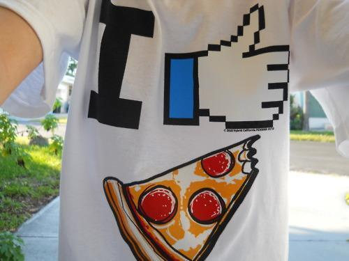 fashion, like, love, pizza, shirt