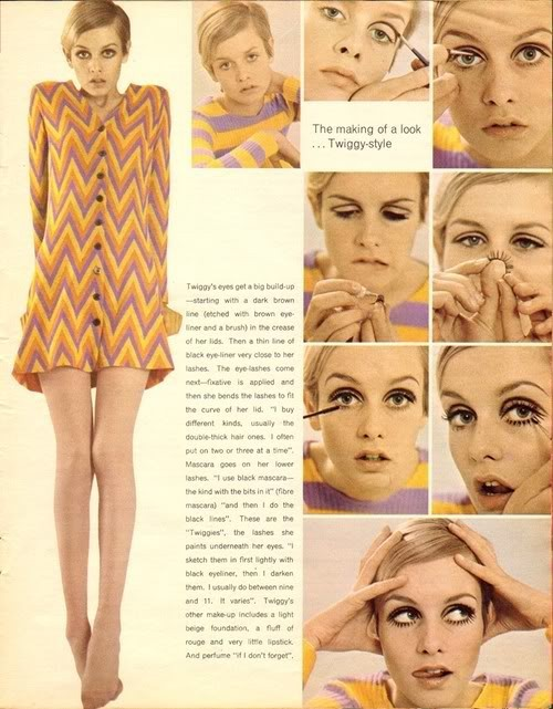 fashion, make up, twiggy