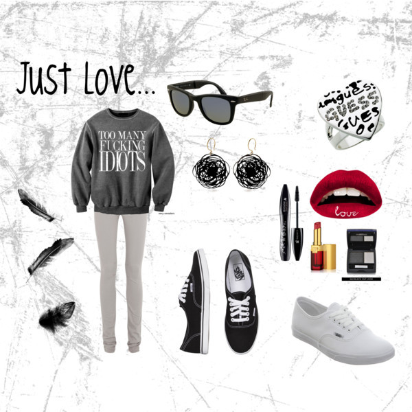 fashon, lips, love, polyvore, simple