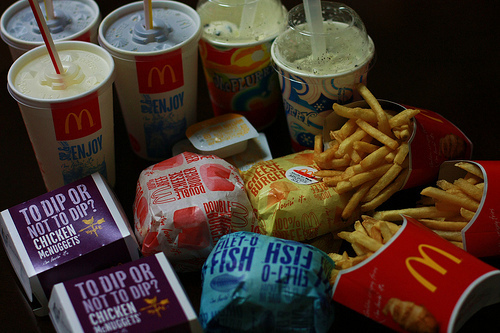fat, mcdonalds, photography